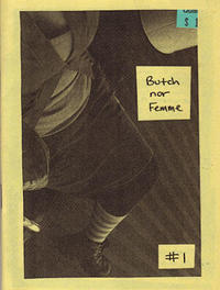 Butch nor Femme #1