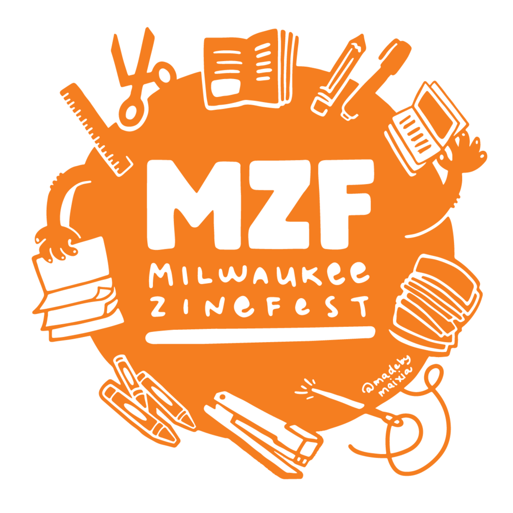 logo for Milwaukee Zine Fest 2019